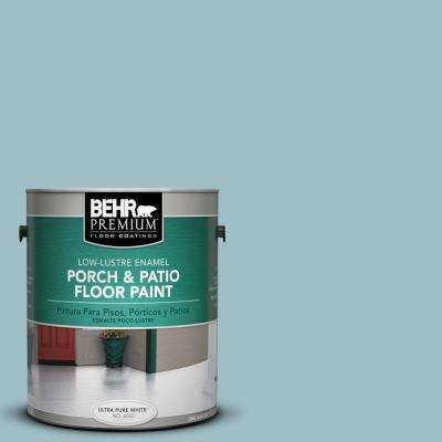 1 gal. #PPU13-11 Clear Vista Low-Lustre Interior/Exterior Porch and Patio Floor Paint