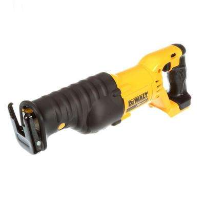 Dewalt no tool blade change cordless reciprocating saws saws 20 volt max lithium ion cordless reciprocating saw tool only greentooth Gallery