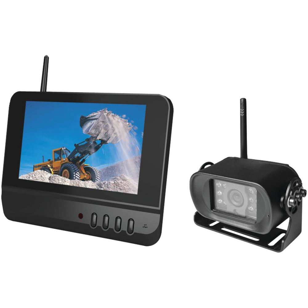 Digital Wireless Rearview System