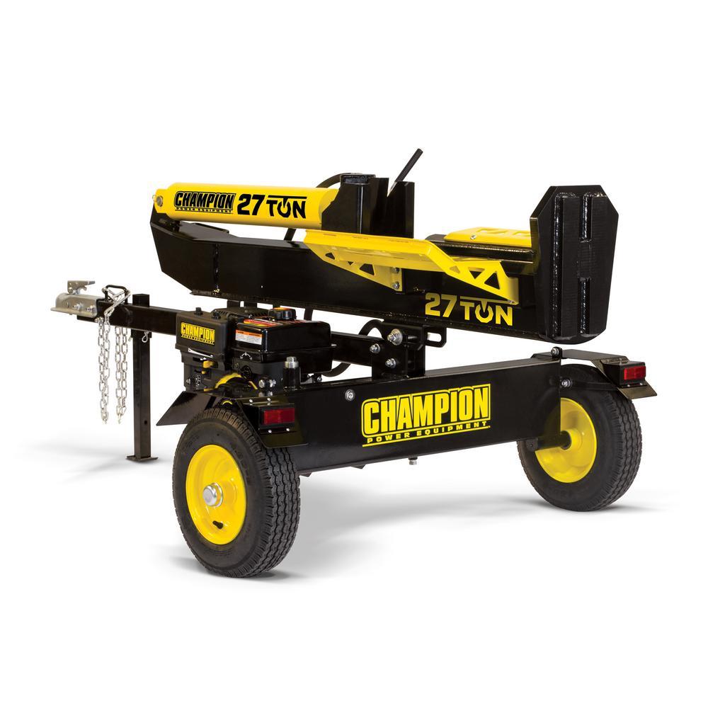 Champion Power Equipment 27 Ton 224 cc Log Splitter