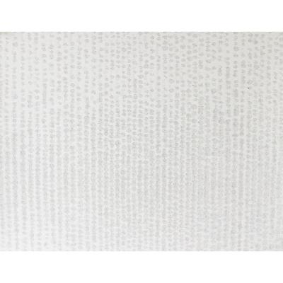 Myth White Beaded Texture Wallpaper Sample