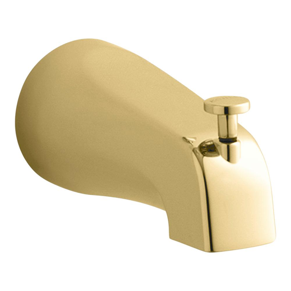 Coralais 4-7/8 in. Diverter Bath Spout with Slip-Fit Connection