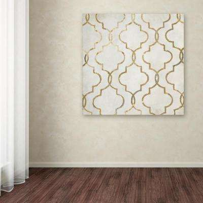 """35 in. x 35 in. """"Paris Apartment IV"""" by Color Bakery Printed Canvas Wall Art"""