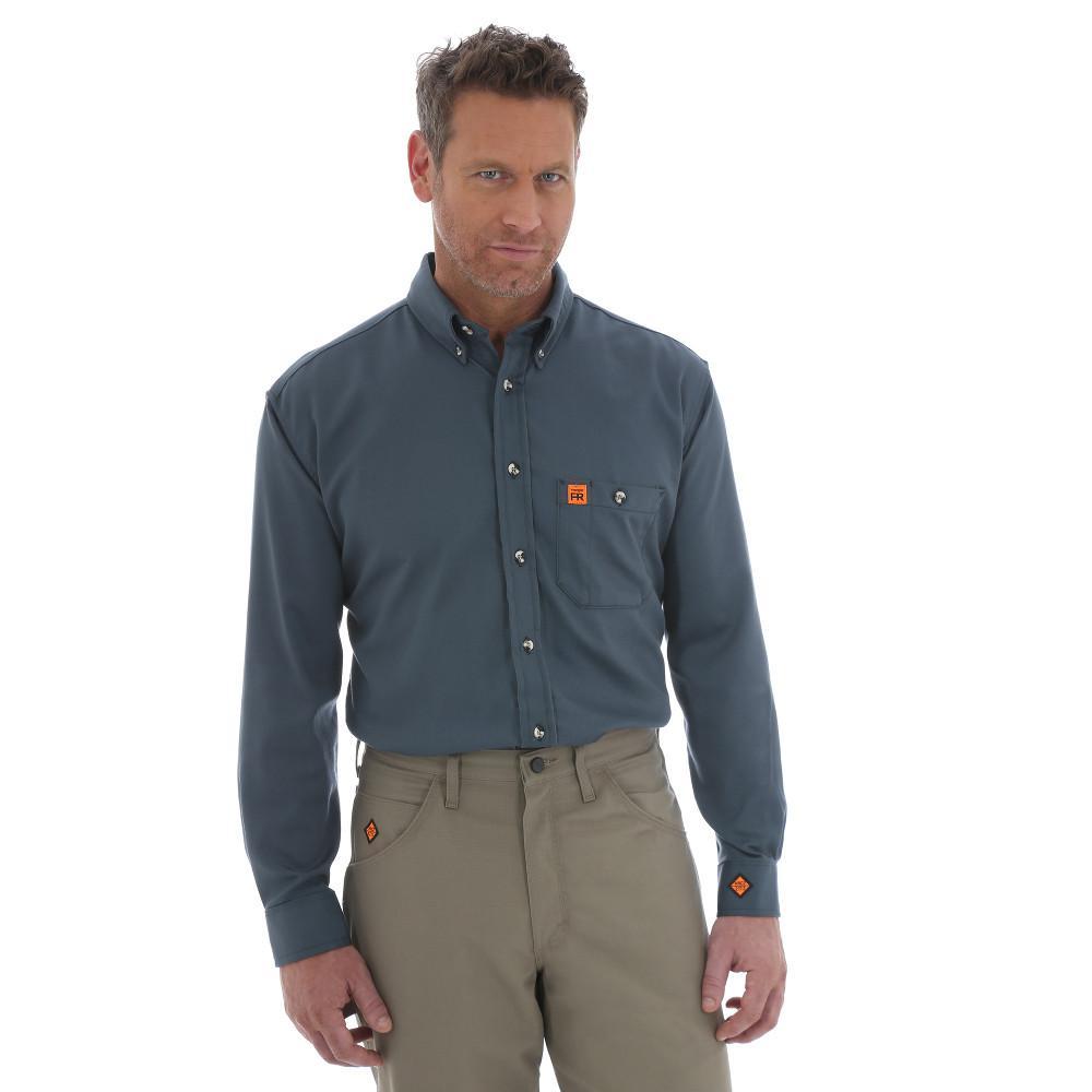 Men's Size Large Spruce Work Shirt