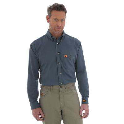 Men's Size Extra-Large Spruce Work Shirt