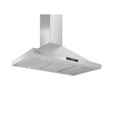 WPR436 36 in. 400 CFM Convertible Wall Mount Pyramid Range Hood with LED in Stainless Steel