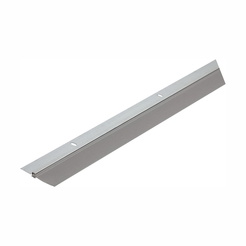 Simply Conserve Single Seal 1-3/4 in. x 36 in. Gray Aluminum and Vinyl Door Sweep Contractor Pack of 50