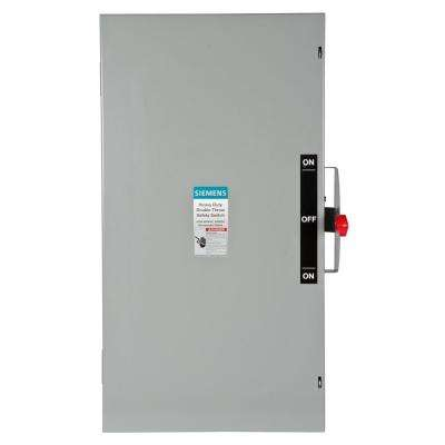 Double Throw 200 Amp 600-Volt 3-Pole Indoor Non-Fusible Safety Switch