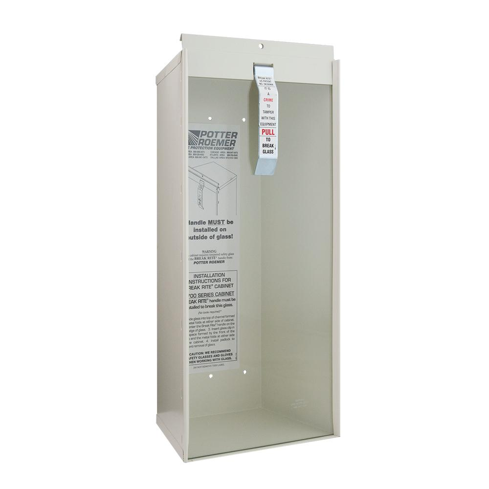 Kidde 6 lb. Surface Mount Fire Extinguisher Cabinet