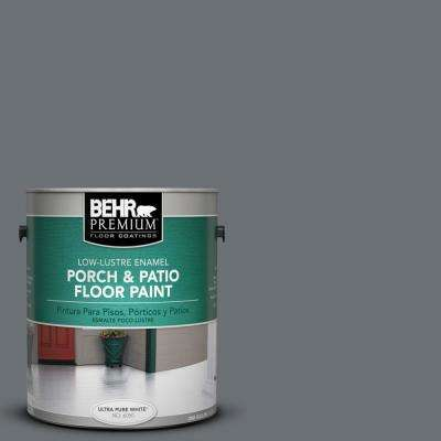 1 gal. #PPU18-3 Antique Tin Low-Lustre Porch and Patio Floor Paint