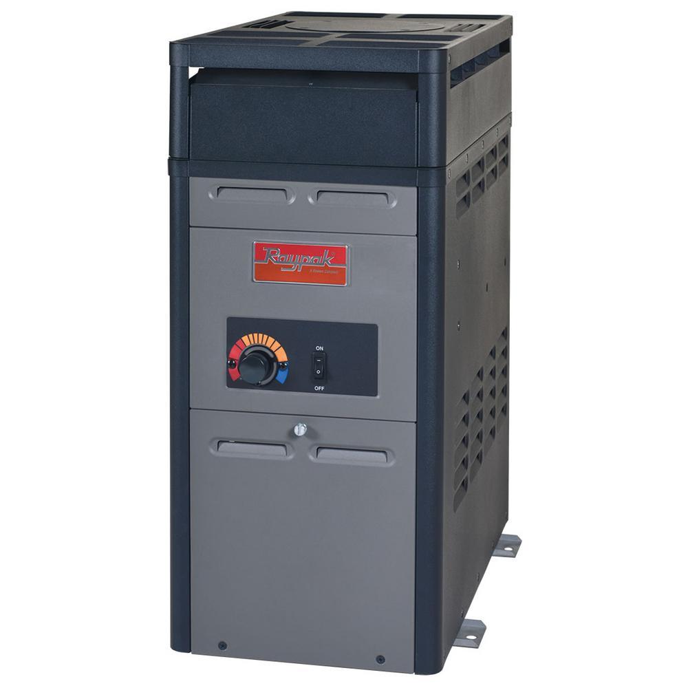 106,000 BTU Analog Natural Gas Pool Heater