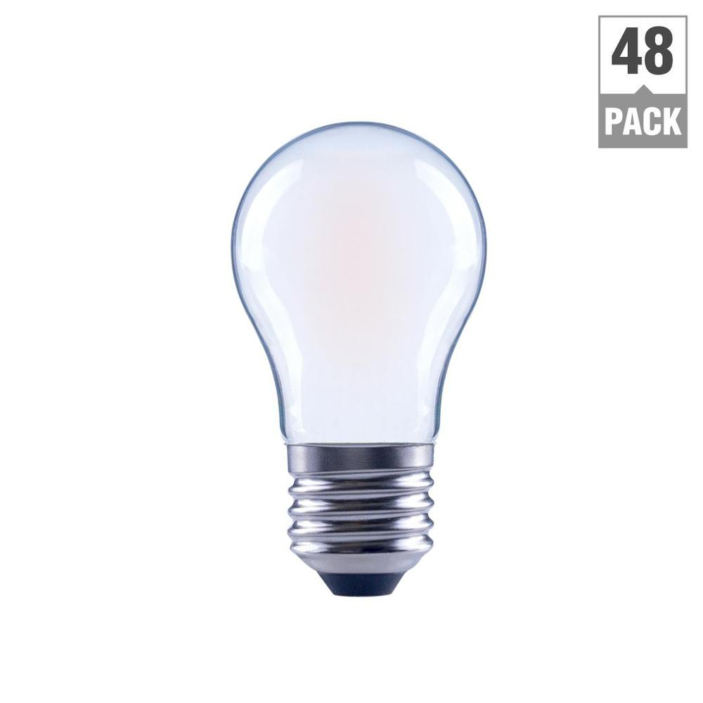 Ecosmart 40w Equivalent Soft White B11 Dimmable Filament: EcoSmart 60-Watt Equivalent A15 Appliance Dimmable Frosted