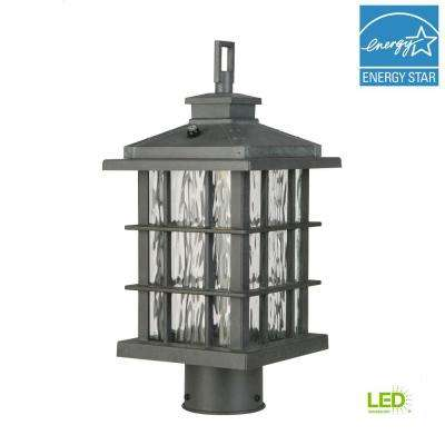 Summit Ridge Collection Zinc Outdoor Integrated LED Post Light