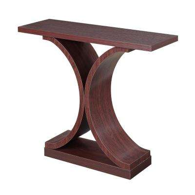 Newport Mahogany Infinity Console Table