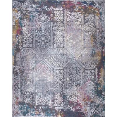 Lilly Multi 8 ft. x 10 ft. Indoor/Outdoor Area Rug