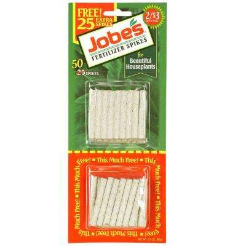 Houseplant Fertilizer Spikes (50-Pack)