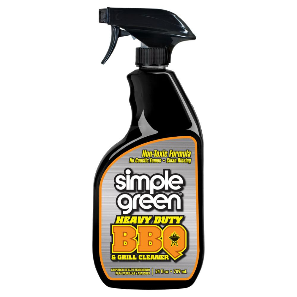 Simple Green 24 oz. Heavy-Duty Non-Aerosol BBQ and Grill Cleaner (12-Pack)