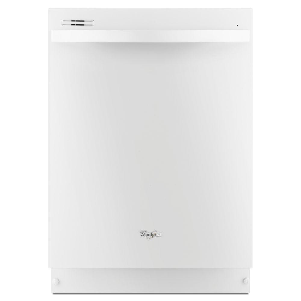 Whirlpool Gold Series Top Control Dishwasher in White with Silverware Spray