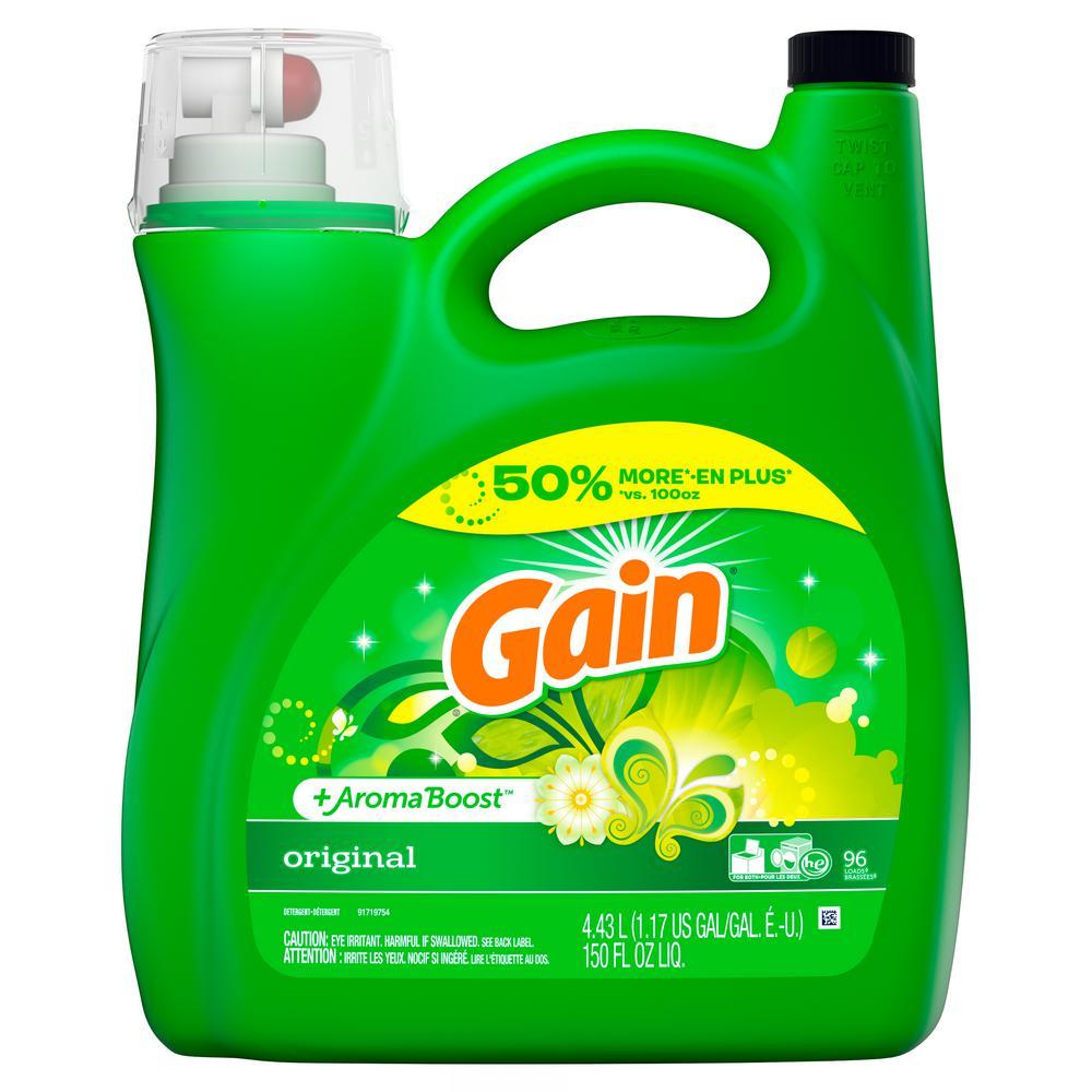 150 oz. Original Fresh Scent HE Liquid Laundry Detergent (96-Loads)
