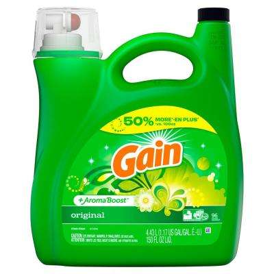 150 oz. Original Fresh Scent HE Liquid Laundry Detergent (96 Loads)