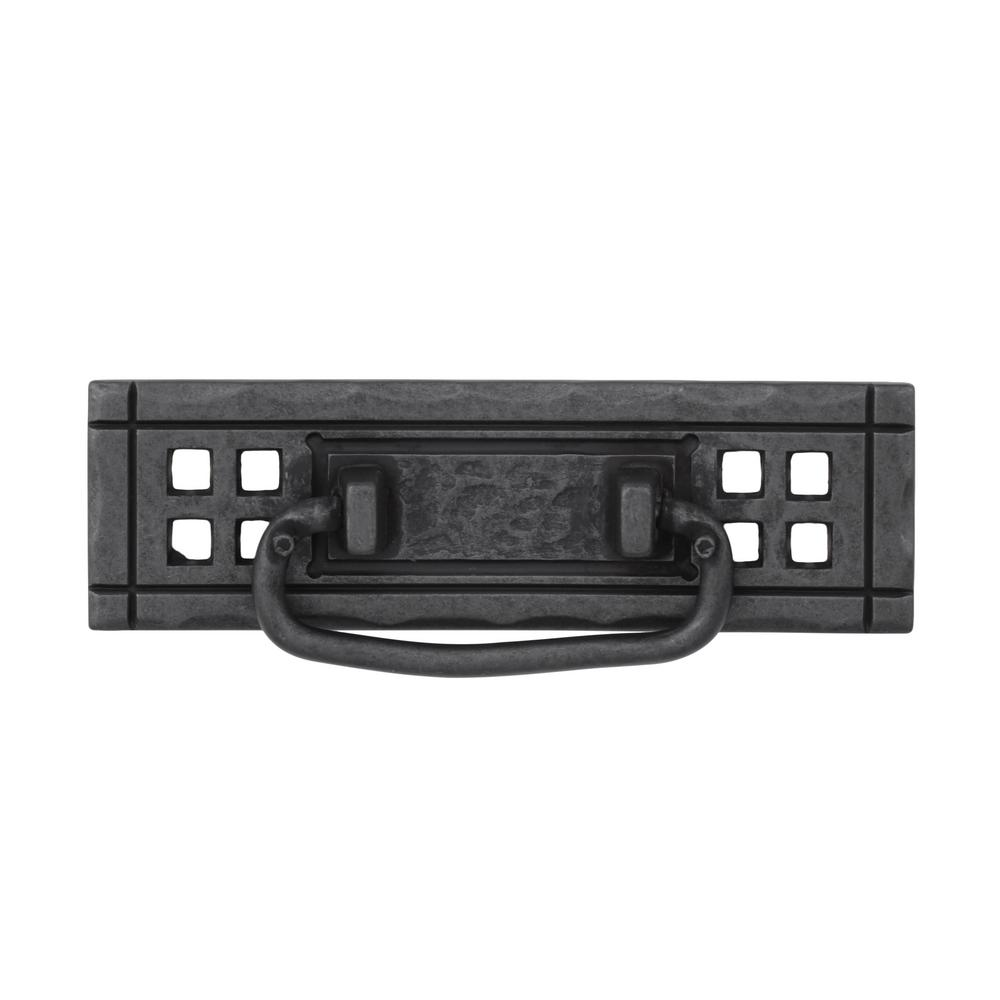 Liberty Mission 4-1/4 in. (108mm) Wrought Iron Bail Pull