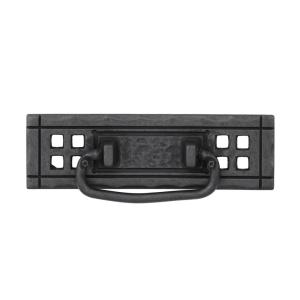 Mission 4-1/4 in. (108mm) Wrought Iron Bail Drawer Pull