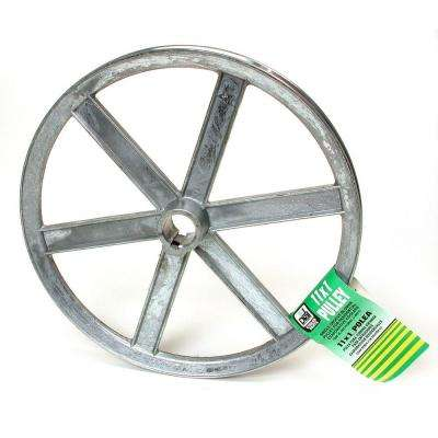 11 in. x 1 in. Evaporative Cooler Blower Pulley