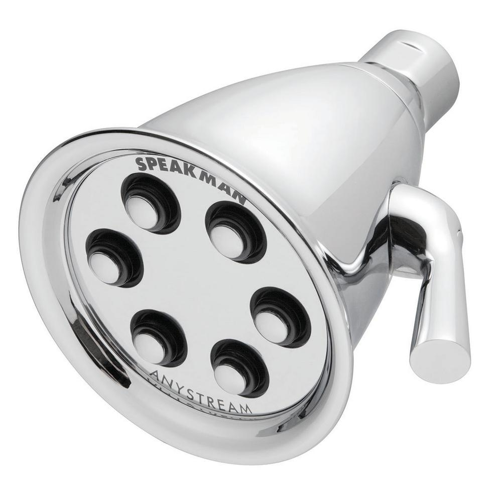 Speakman Anystream Icon 3-Spray 4.1 in. Fixed Showerhead in ...