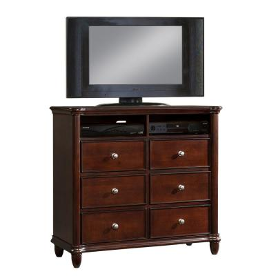 Gavin 6-Drawer Cherry Media Chest