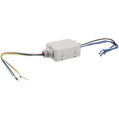 20 Amp Standard Power Pack for Occupancy Sensors: Auto-On, Manual-On, Local Switch, Latching Relay, Gray