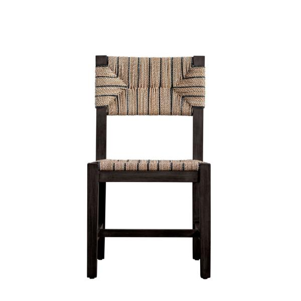 Brown Mango Wood Accent Chair