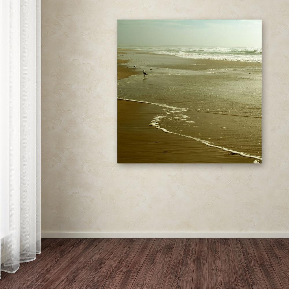 Trademark Fine Art 18 in. x 18 in. ''Feels Like Home''