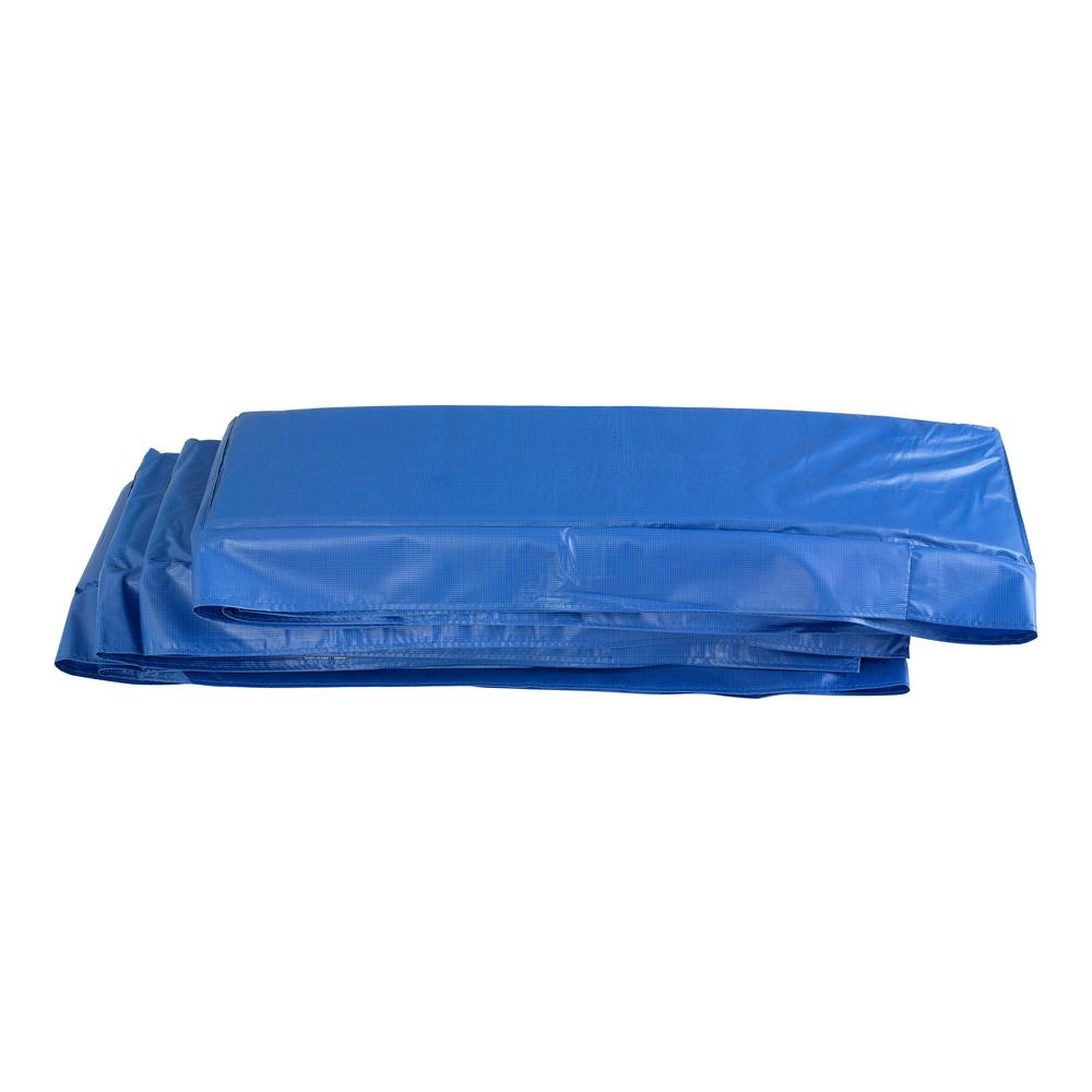 14 Square Spring Pad Blue: Upper Bounce 13 Ft. Super Trampoline Safety Pad Spring
