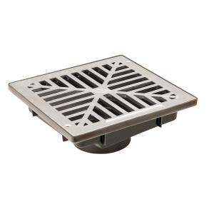 reln storm vortex 9 in x 9 in vortex catch basin complete with grey grate 000250 the home depot. Black Bedroom Furniture Sets. Home Design Ideas