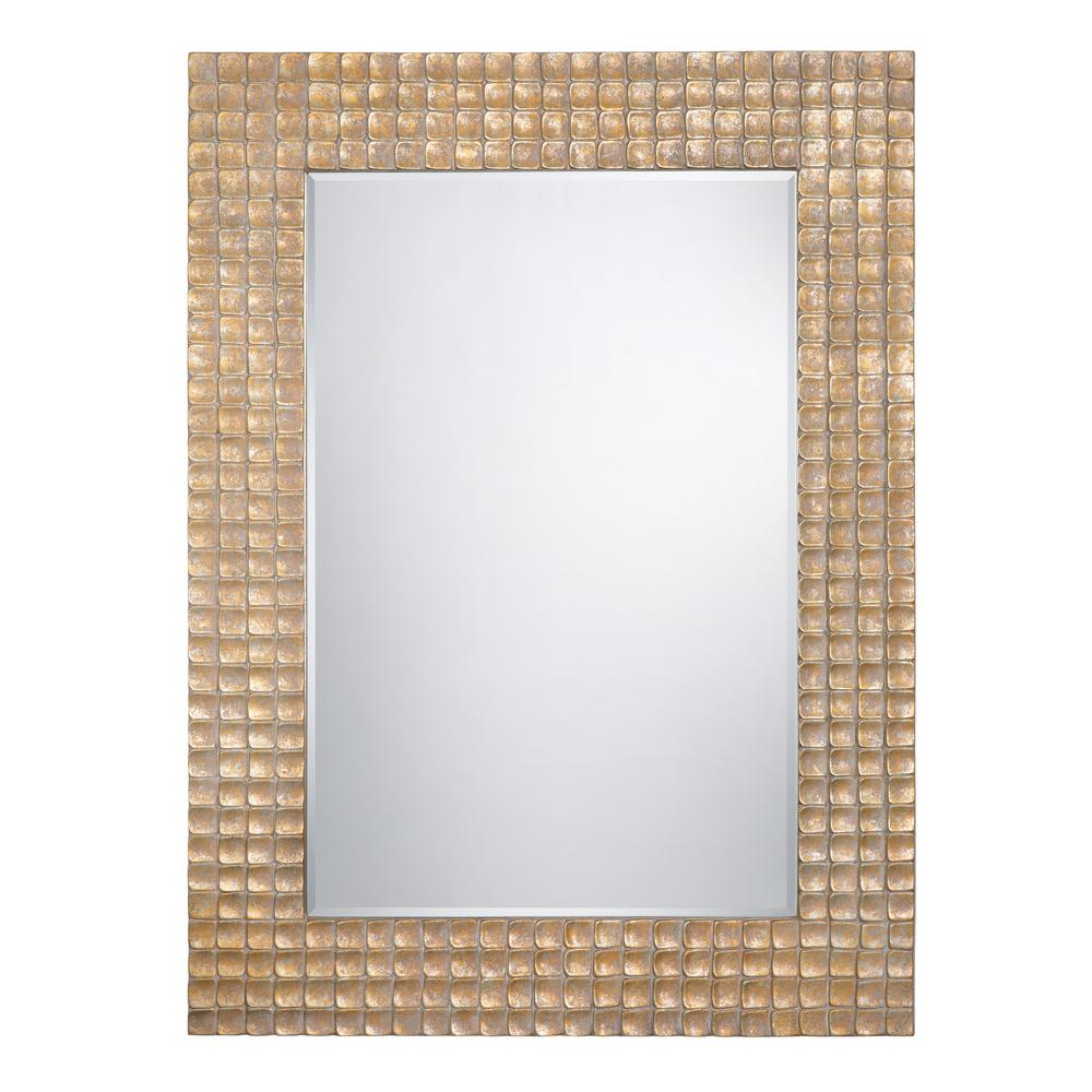 Yosemite home decor 60 in x 44 in rectangular iridescent for Mirror 120 x 60
