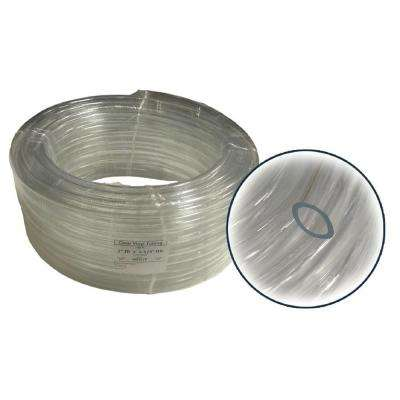 5/8 in. ID x 7/8 in. OD x 1/8 in. Wall PVC Clear Tubing Coil
