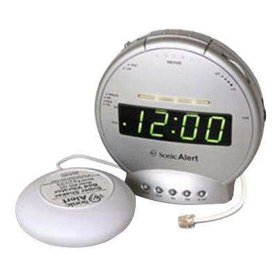 Alarm Clock with Phone Signaler and Vibrator