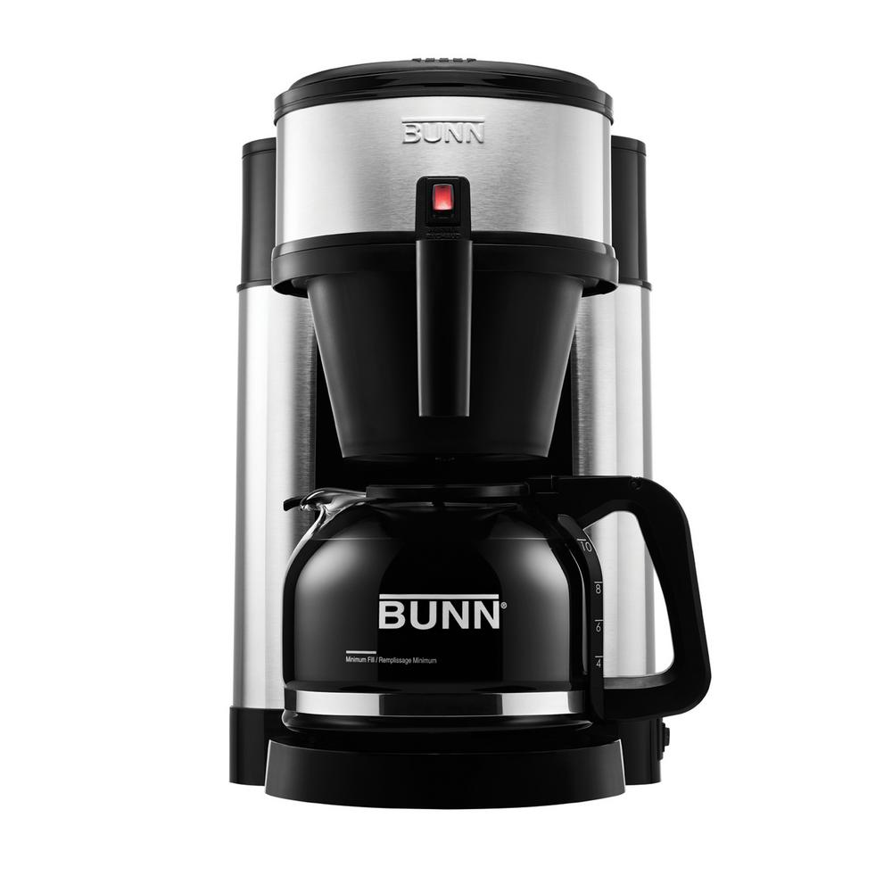 Bunn Nhs 10 Cup Home Coffee Brewer 44900 0002 The Home Depot