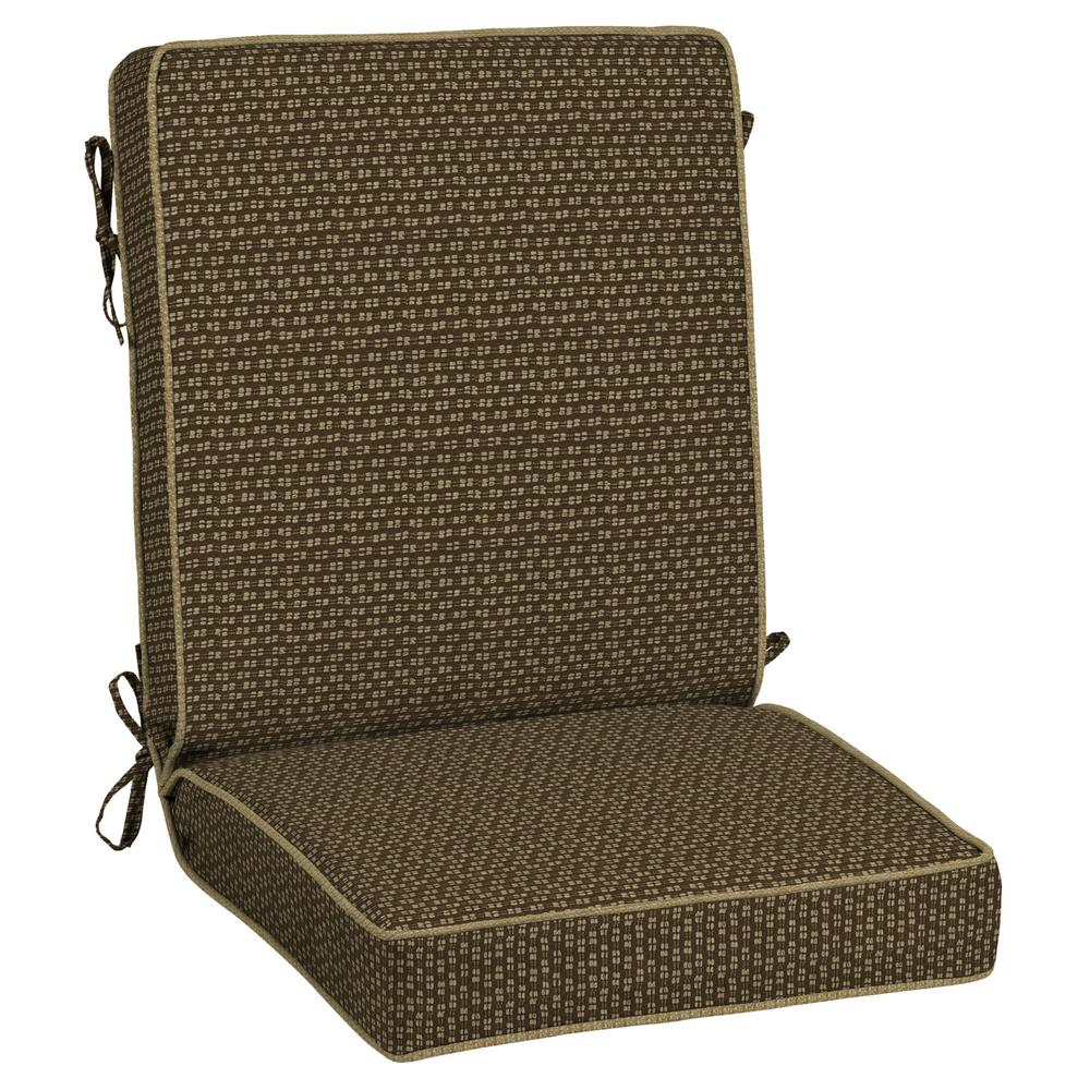 Bombay Outdoors Rhodes Texture Snap Dry Outdoor Dining Chair Cushion