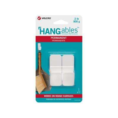 HANGables Permanent Small Hook in White (2-Count)