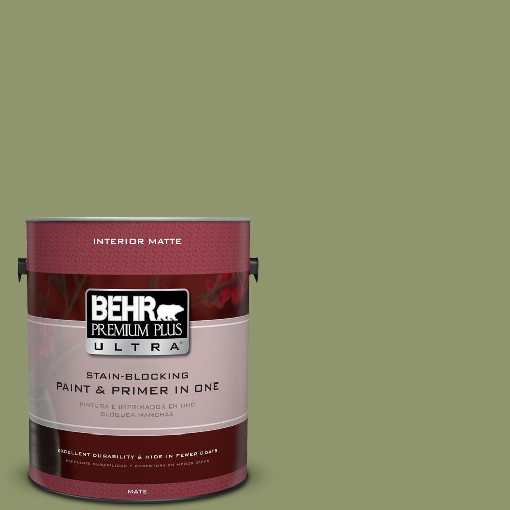 1 gal. #410F-5 Boston Fern Flat/Matte Interior Paint