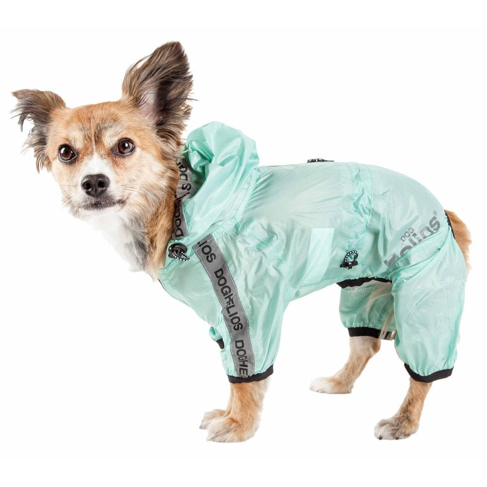 so cheap big selection of 2019 new authentic Dog Helios Large Green Torrential Shield Waterproof Multi-Adjustable Full  Body Dog Jacket
