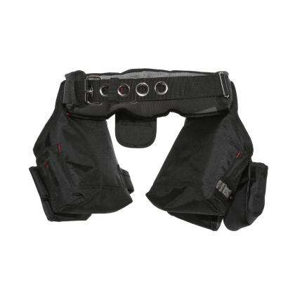 10-Pocket Black Contractor's Tool Belt