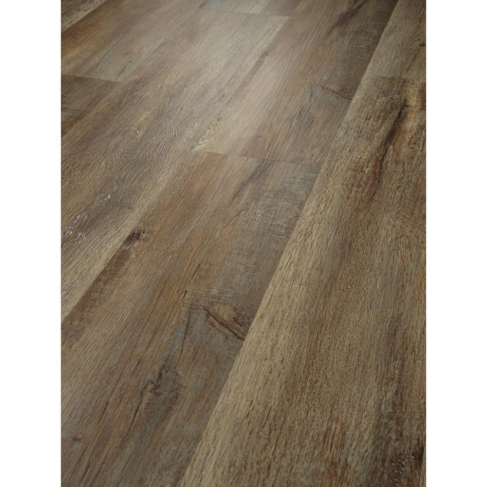 Alliant 7 in. x 48 in. Trail Resilient Vinyl Plank Flooring (34.98 sq. ft. / case)