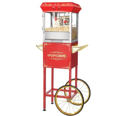 Great Northern-Foundation 6 oz. Red Hot Oil Popcorn Machine with Cart
