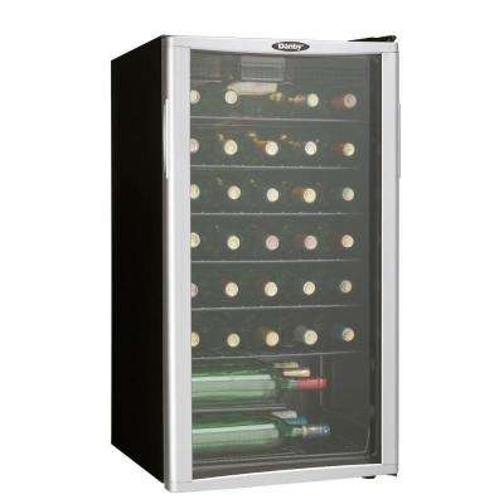 35-Bottle Freestanding Wine Cooler