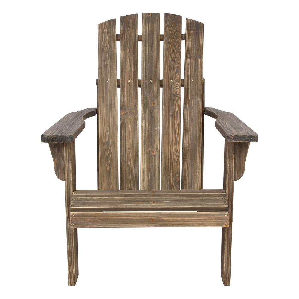 Lakewood Cedar Wood Rustic Adirondack Chair - Barnwood