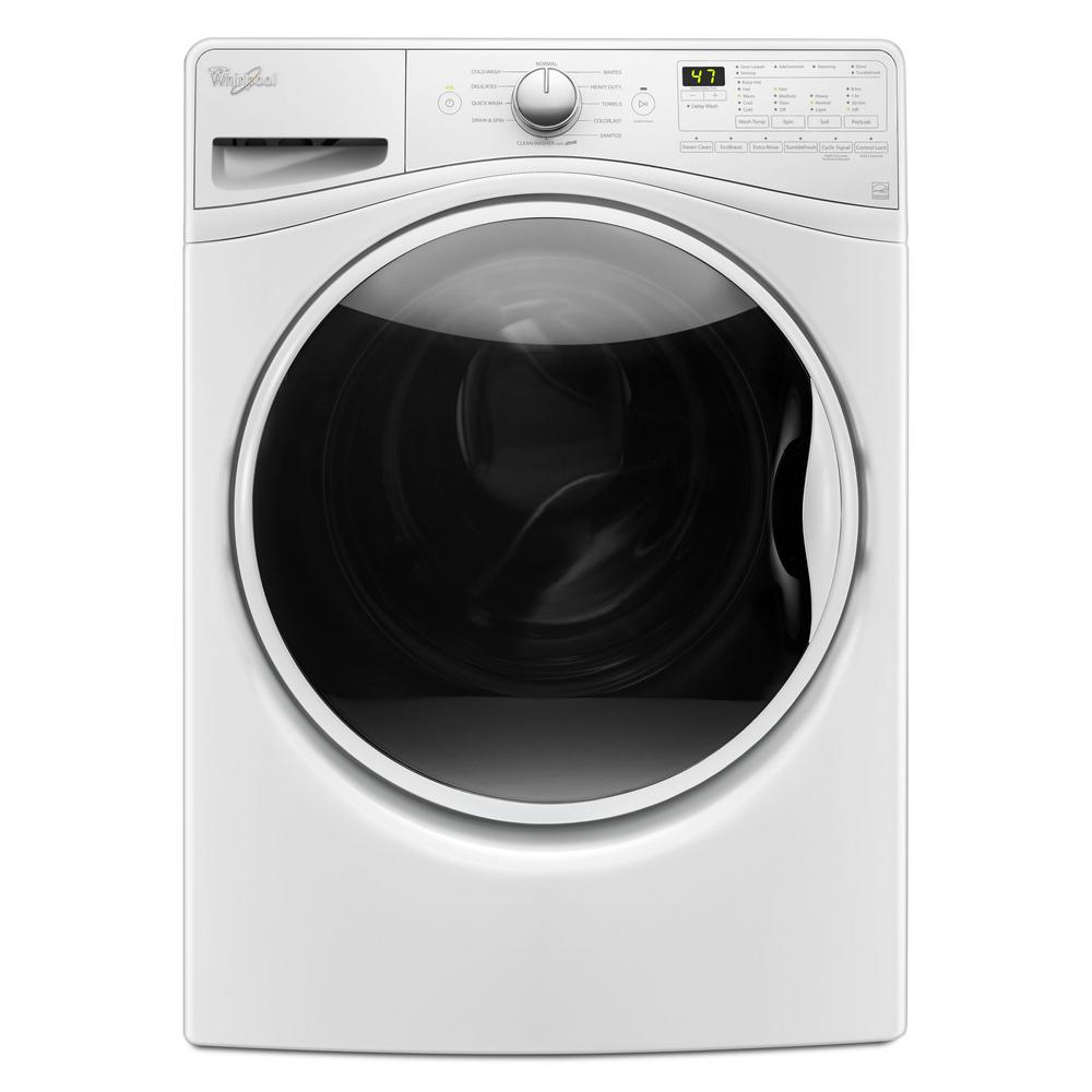 Whirlpool 4.5 cu. ft. Front Load Washer with TumbleFresh in White