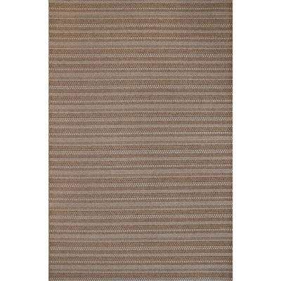 Jennings Chestnut/Grain 5 ft. x 7 ft. Indoor/Outdoor Area Rug