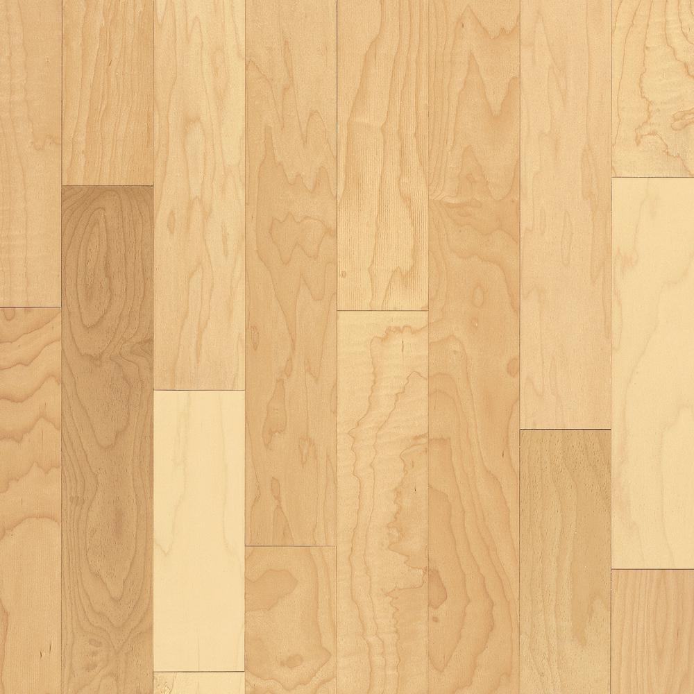 Price Of Maple Hardwood Flooring: Bruce Prestige Natural Maple 3/4 In. Thick X 5 In. Wide X